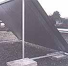 thermosolar geschweißte Flachdachgestelle